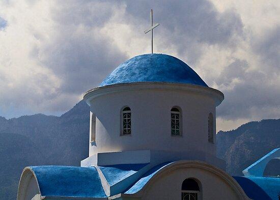 GREEK ROADSIDE CHAPEL..! by vaggypar