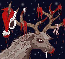 Psycho Rudolph by Joozu