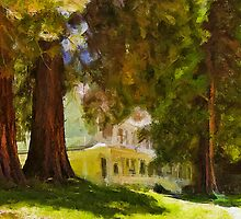 Washburn Cottage_Wawona Hotel_Yosemite NP by Donn Hoyer