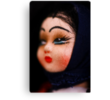 doll face -Hungary Canvas Print