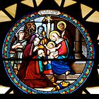 Nativity Window in Bethlehem... by Carol Clifford