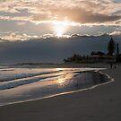Rainbow Bay sunrise by Odille Esmonde-Morgan