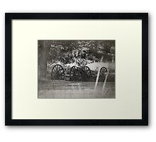 From The Dust Of The Old Trail Framed Print