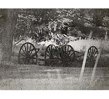 From The Dust Of The Old Trail Photographic Print