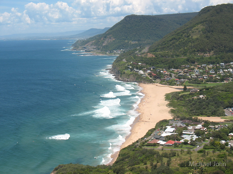 View of Stanwell Park by Michael John