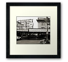 Yield to Pedestrians Framed Print