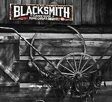 blacksmith by Brock Hunter