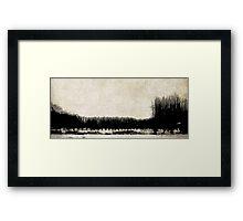 Stillness of Winter Framed Print