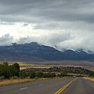 Mountain Clouds and Road by Marc McDonald