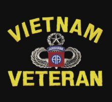82nd Airborne Vietnam Veteran by Walter Colvin