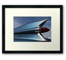 Blue '59 Fin Framed Print