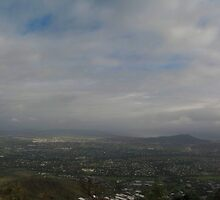 Townsville Wet Season - From Mt Stuart by Paul Gilbert