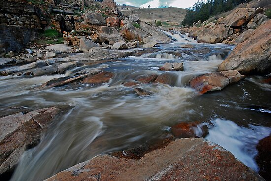 Adelong River, Goldfields by bazcelt