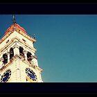 St Spridon's Church Spire. Corfu. Greece by fruitcake