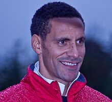 Rio Ferdinand by Dawn OConnor