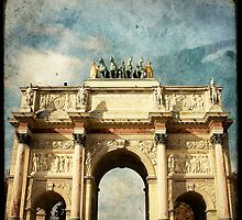 Arc de Triomphe du Carrousel by Marc Loret