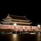 The Tian&#x27;anmen at night by Mark Prior