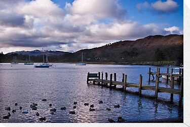 Early Morning at Windermere by Trevor Kersley