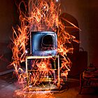 Burn Your TV by ChaseSchiefer