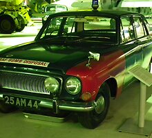 Ford Zephyr mk111 in bomb disposal livery by Andy Jordan
