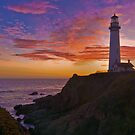 Sunset at Pigeon Point by MattGranz