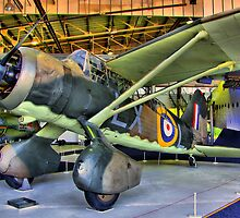 Westland Lysander III - Hendon - HDR by Colin J Williams Photography