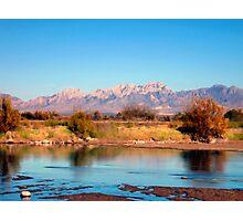 River View at Mesilla Photographic Print