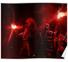 Red Torch (Lewes Bonfire 2010) Poster