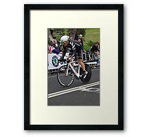 Gordon McCauley Framed Print