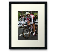 Fabian Cancellara Framed Print