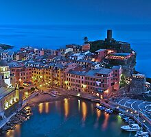 Light reflections in Vernazza  by Bruce Alexander