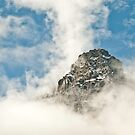 Mountain in the sky by traveller
