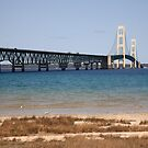Mackinac Bridge by Frank Romeo