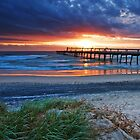Sunrise on the Spit - Gold Coast Qld by Beth  Wode