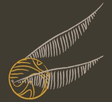 I've Got The Golden Snitch - Color by MeteorMuse