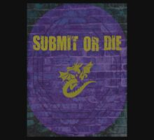 SUBMIT OR DIE IN THE CAGE by blackrose25