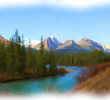 Bow Range- Morant's Curve by JamesA1