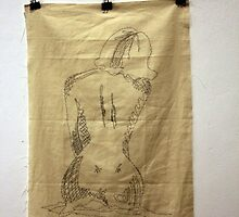 Embroidered figure by CSSART