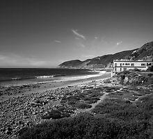 Malibu - america by the sea by Elise Stephenson
