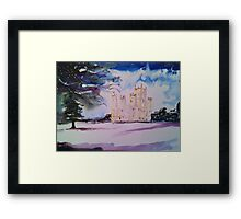 'Downton Abbey, Winter' Framed Print