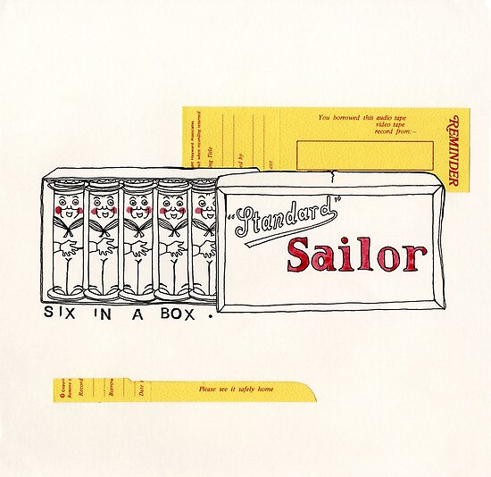 Six Little Sailors In A Box by Samantha Mabley