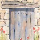 Old Barn Door, Chez Bourret, France by ian osborne