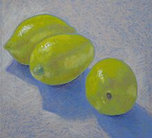 """Lemon blue"" by Richard Robinson"