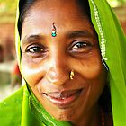 Smiling Eyes - Terai, Nepal by AlliD