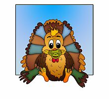 Baby's First Thanksgiving Greeting Card by Moonlake