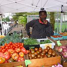 Fresh produce in Copley Plaza, Boston by nealbarnett