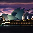 Sydney Opera House Magical Sunset by fredz