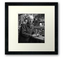 Experiment in Environmental Portraiture Framed Print
