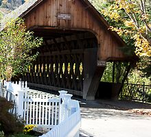 Woodstock Covered Bridge by phil decocco