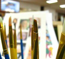 Brushes by Christina Herbert